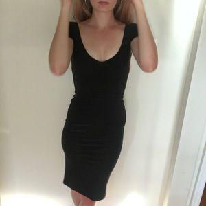 💕♥️Leona Edmiston Black Stretch Dress NWT